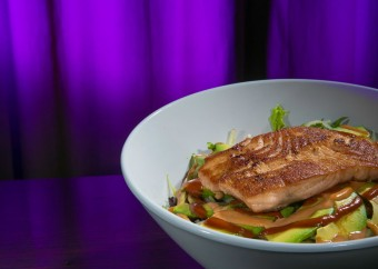 Grill Salmon Avocado Salad