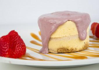 Mango-Guayaba Cheesecake