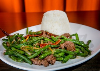 Spicy Green Beans with Beef